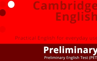 Exámen Preliminary English Test PET